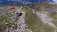 翼装飞行!来感受一下从阿尔卑斯山脉一跃而下的快感吧