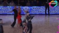 2015年WDSF世界体育舞蹈公开赛(俄罗斯)缅甸万丰国际老百胜第四轮斗牛Birman - Pustovalova