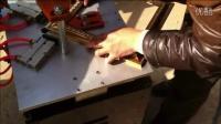 新款木框钉角机报价5  佛山相框机械 拼角机做精美相框 裱框对角机图片