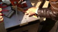 十字绣框拼角机器3 相框组角机 木框条切角机多少钱 十字绣钉角机图片