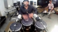 Edward featuring Eliel Lazo - Drums and Congas Duo