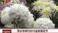 萍乡市举行2015金秋菊花节 新闻夜航 151111