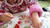 心悦手工串珠~~~可爱草莓挂件