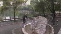 视频: 攀爬自行车~武汉倪韦韦tomorrow新车架第一天骑车视频