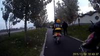 视频: 骑行环山旅游路——自行车道2   老城墙