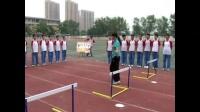 初中八年级体育《跨栏——起跨腿技术》教学视频,高中体育名师工作室教学视频