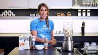 健康甜品——香蕉冰淇淋的制作配方,为庆祝Lunden的生日!