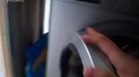 西门子滚筒洗衣机用手盘内筒咯吱咯吱响