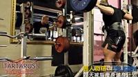 健身励志 牛男健身肌肉训练大腿肌肉锻炼