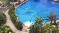公司组织的三亚游玩-海景看比基尼美女游泳