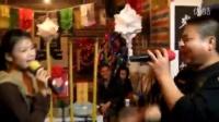 湘潭丧事红叫鸡西乐队美女唱歌。