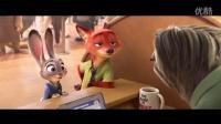 迪士尼第55部动画长片【动物大都会】第二款预告片