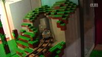 乐高积木砖家LEGO Minecraft custom layout update Aug. 28, 2015!