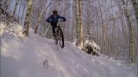 视频: 冬日芬兰山地车AM越野