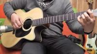 七星吉他《神秘园之歌》指弹曲1分30秒进入佳境