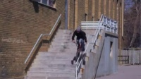 视频: Chris Silva - BMX Double Peg-Less To BB Grind