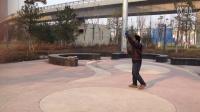 街心公园苦练盘鹰近耍(七)
