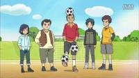 第09话 用足球来一决胜负!
