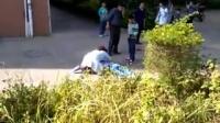 兴宁鸿盛区一穿沐彬中学校服少女跳楼身亡!