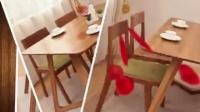 北欧宜家日式全实木餐桌椅组合 现代简约风格办公椅 白橡木餐椅