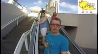 男子到拉斯维加斯渡假GoPro镜头全程拿反
