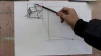 卡通人物素描铅笔画_石膏几何体素描教学视频_色彩搭配