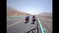 骑行新藏线第12集 一路欢乐逛地球车队骑行西藏 初见无人区红柳滩 1080P