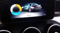 奔驰新C级/GLC级全车原厂三色氛围灯-原车中控调节