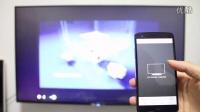 PPTV 55T 手机投影视频到电视屏幕上效果
