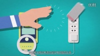 菠萝派C7一款无线充电智能感应iphone安卓三星手机同时充电时尚可爱的小黄人移动电源