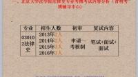 2016年北京大学法学院法律史考博辅导班分析论文发表