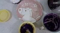 DIY甜品 椰香紫薯泥