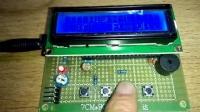 单片机智能电子闹钟LCD1602
