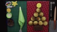 如何制作简单的圣诞树蛋糕