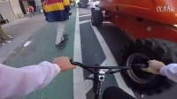 视频: 【E118酷玩爱好集聚地】GoPro BMX Bike Riding in NYC Traffic