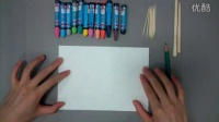 小学四年级美术《蜡和笔的游戏》微课视频,第二届微课大赛视频