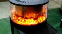 电壁炉原理 电壁炉尺寸及价格 360度全景壁炉 伏羲牌圆形壁炉 圆柱体电壁炉 启东温泉浴场洗浴会所壁炉