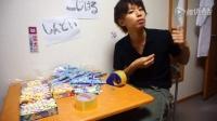 日本小哥用可乐和曼妥思泡了个巨污的澡...