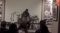 Gerald Heyward Clinic at the Zildjian Factory