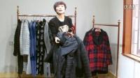 祥子服饰-秒杀妮子大衣32件60元一件送十件26元打底衫看货视频