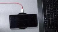 SONY 索尼 Z3 D6683 港版双4G双卡 改装无线充电 内置 非外置usb无线充电 WIRELESS CHARGING