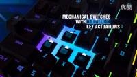 TESORO铁修罗克力博剑幻彩版RGB机械键盘广告视频_超清