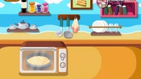 学做杏仁椰子蛋糕