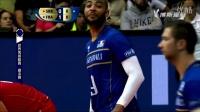 2015世界男子排球联赛巴西总决赛 决赛 法国男排VS塞尔维亚男排