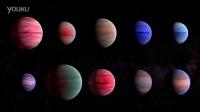 """10个比较著名的""""热木星""""系外行星视频"""