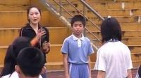 小学体育教学视频《肩肘倒立》第四届全国体育观摩课教学视频