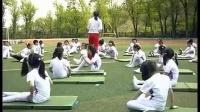小学体育教学视频《仰卧推起成桥》第四届全国体育观摩课教学视频