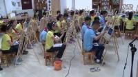 浙美版六年级美术上册《色彩风景》教学视频,2014年优质课