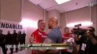 UFC赛场WWE布洛克偶遇巨石强森 brock Lesnar_标清