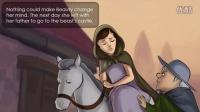 格林童话精选 美女与野兽 英文版